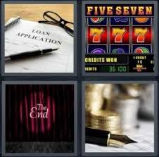 4 Pics 1 Word Pie Chart Music Sheet Slot Machine 4 Pics 1 Word Answer For Loan Slot End Coins Heavy Com