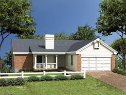 image of ranch style house plans with basement and wrap around porch garage