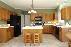 kitchen color ideas with oak cabinets and black appliances. Modren Ideas Kitchen Paint Colors With Oak Cabinets And Black Appliances  Light  With Kitchen Color Ideas Oak Cabinets And Black Appliances I