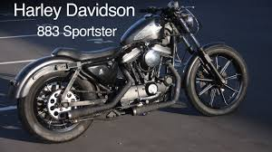 finished 1986 harley davidson 883 sportster youtube