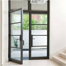 factory low e glass exterior door aluminum double swing french door