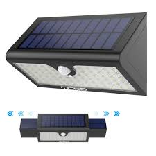 solar lights moko super bright 71 led motion sensor solar powered lights outdoor waterproof wall path light home security la only
