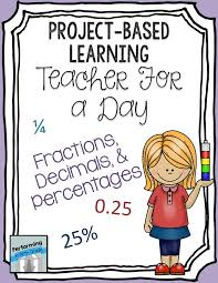 FREE Project-based Learning Activity for fraction, decimal ...