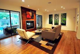 indoor outdoor fireplace patio contemporary with armchairs