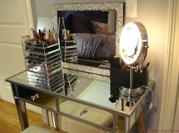 vanity set with mirror mirrored makeup vanity set with mirror and cool vanity light jrs vanity set with mirror
