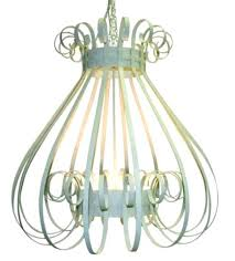 birdcage chandelier with crystals pendant light uk