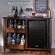 refrigerator end table. firenze mezzo wine and spirits credenza with 28 bottle touchscreen refrigerator end table