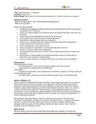 Samples Of Resumes Sales Associate Sample Resume Job And 791