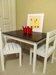 anna white furniture plans. alexu0027s art table u0026 chairs do it yourself home projects from ana white anna furniture plans