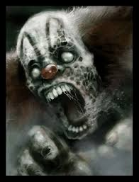 Evil clowns images , tattoos and art designs for Halloween. These are  really scary Evil clown pics which can take your breath away for sometime  for sure.