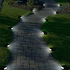 duracell solar led pathway lights solar pathway lights solar powered dark bronze outdoor integrated led warm