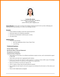 Examples Of Resume Objective Resume Objective Example Resume Objective Example 60 Resume Objective 1