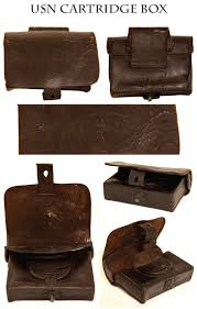 civil war antiques dave taylor s 2013 webcatalog civil war navy pistol cartridge box one of the rarest federal accoutrements is this usn cartridge box when found the interior cap pouch still