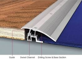 carpet joint strip. reducer transition for 7-26mm floor heights carpet joint strip