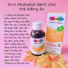 Siro Pediakid dành cho trẻ biếng ăn (>6m) | Vitamin,Thực phẩm chức năng