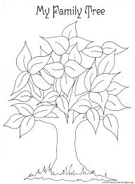 Small Picture My Family Tree Coloring PageFamilyPrintable Coloring Pages Free