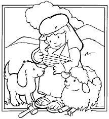 Afbeeldingsresultaat Voor De Goede Herder Kleurplaat Knutselen