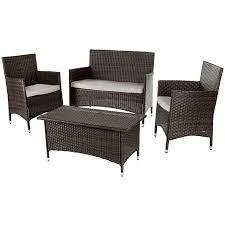wicker patio set patio furniture