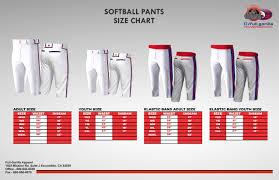 Knee High Pants Size Chart Full Gorilla Apparel