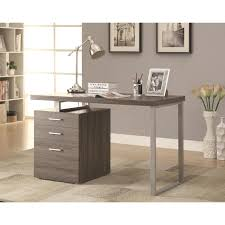 home office writing desk. Modern Design Home Office Weathered Grey Writing/ Computer Desk With Drawers And File Cabinet - Free Shipping Today Overstock 19067790 Writing