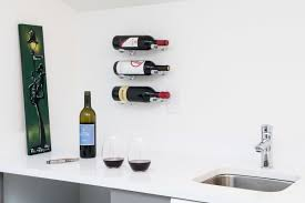 Vino Pin 1 Bottle Wall Mounted Wine Bottle Rack