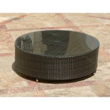 wonderful wicker round coffee table with outdoor furniture round small dining tables wicker coffee table