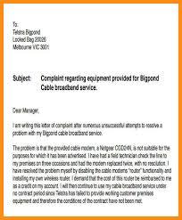 12 13 Letter Of Complaint For Poor Service Jadegardenwi Com