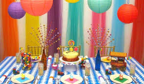 Table Decoration Ideas For Birthday Party 90th Birthday Table