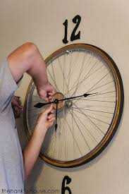 bicycle wheel wall decor