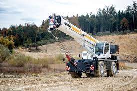 Liebherr Presents Rough Terrain Crane At Intermat 2018