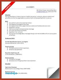 Medical Esthetician Resume Examples Resume