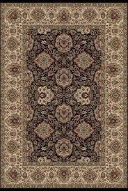 concord global verona rajput black rug traditional area rugs by plushrugs