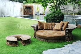 unique outdoor furniture. Daybed Outdoor Furniture Unique Shaped Chair Soft .