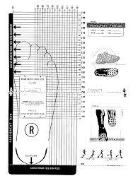 Printable Shoe Size Chart Shoe Size Chart Shoe Template
