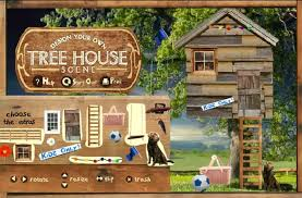 tree house building a free girl game on girlsgogames com