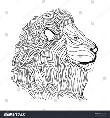 Small Picture Coloring Pages Lion Head Coloring Page Mycoloring Free Printable
