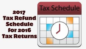 2017 tax schedule for 2016 irs tax