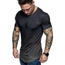 Funnygals Men's T-Shirt Fashion Summer Slim Fit ... - Amazon.com