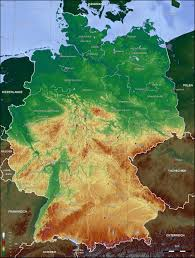 germany topographic map 2006 Satellite Map Of Germany Satellite Map Of Germany #14 satellite map germany