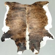brindle cowhide rug brown tricolor brindle cowhide rug gray brindle cowhide rug