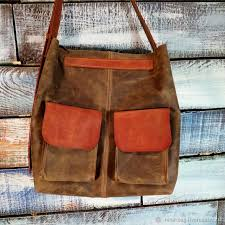 bag leather handmade