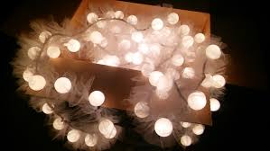 Ping Pong Fairy Lights Lighting From Pingpong Balls Tulle String Lights
