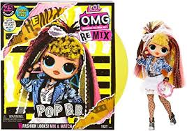 LOL Surprise OMG Remix Pop B.B. Fashion Doll ... - Amazon.com
