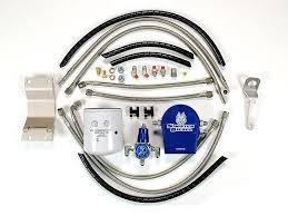 sinister diesel regulated fuel return 03 F250 Fuel Filter 4x4 Front Hub
