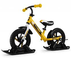 <b>Беговел на лыжах</b> Small Rider Combo Drift желтый