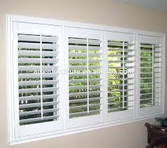 bi fold plantation shutters for french doors style interior wood shutter louvre