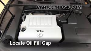 oil filter change lexus es350 2007 2012 2008 lexus es350 3 5l v6 8 remove oil cap