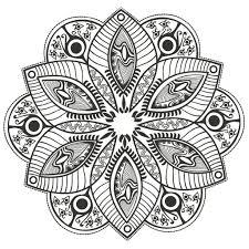 Mandala Fleur Originale Par Markovkaa Partir De La Galerie