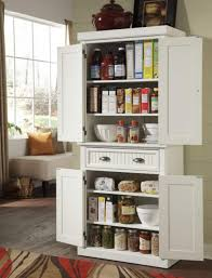 Freestanding Linen Cabinet Kitchen Idea For Kitchen With Pantry Using White Free Standing