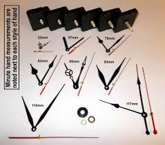 10mm spindle quartz battery wall clock